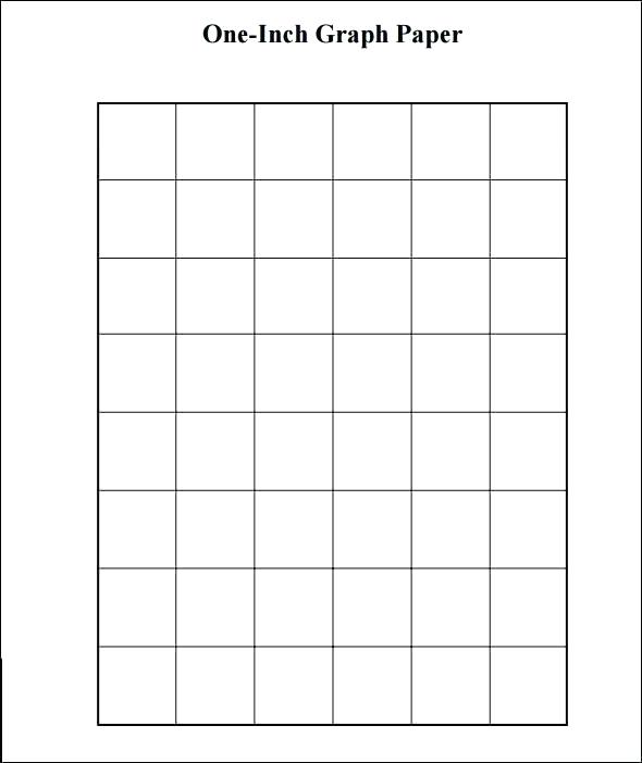 1-Inch Grid Paper Roll