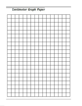 1 cm Grid Paper