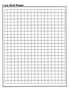 1 cm Grid Paper Printable