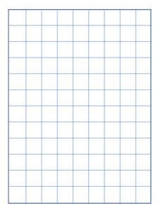 1-Inch Grid Paper PDF