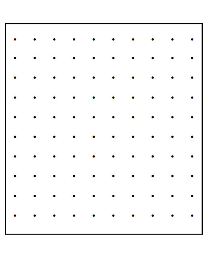 Dot Paper, Printable Dot Graph Paper Template