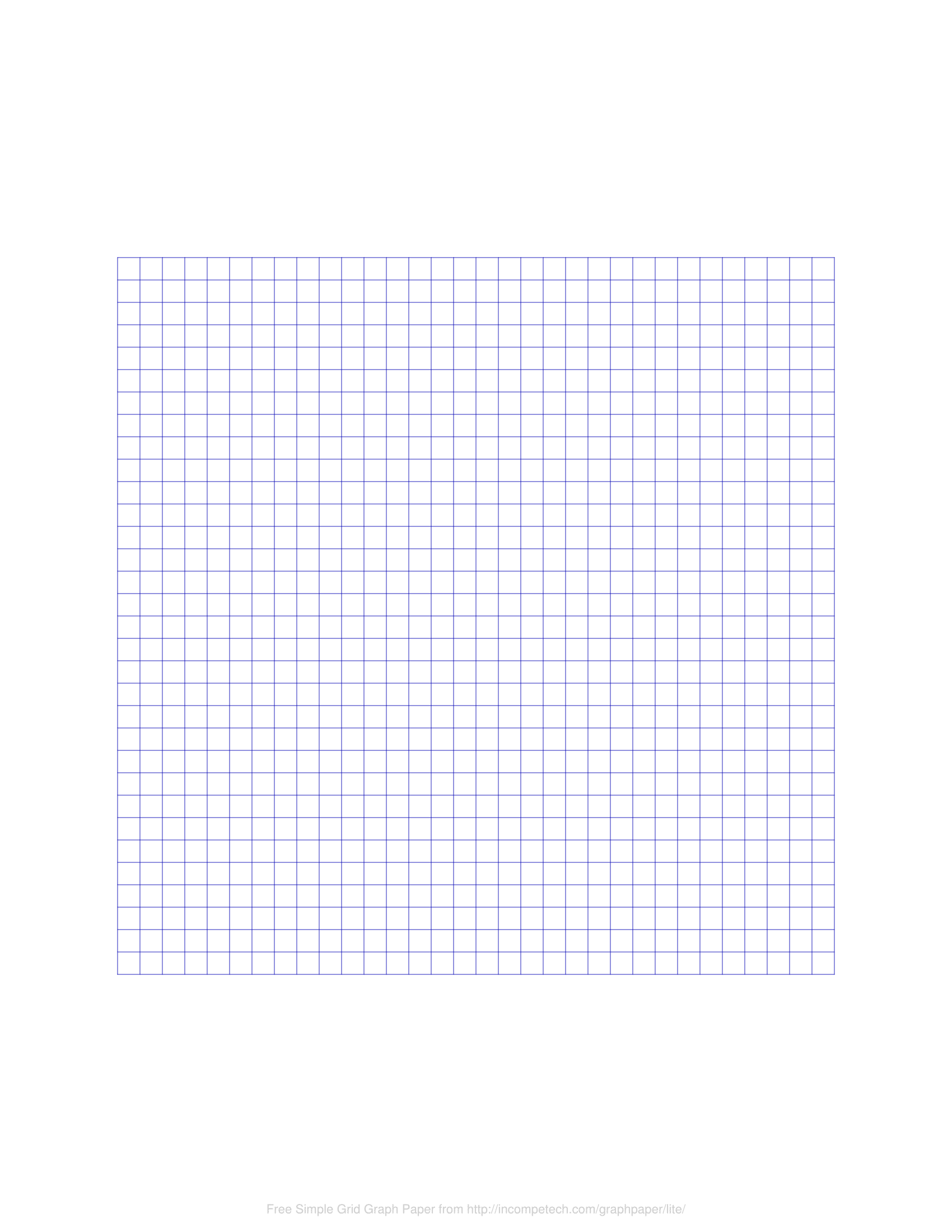 online free printable blank graph paper template  pdf