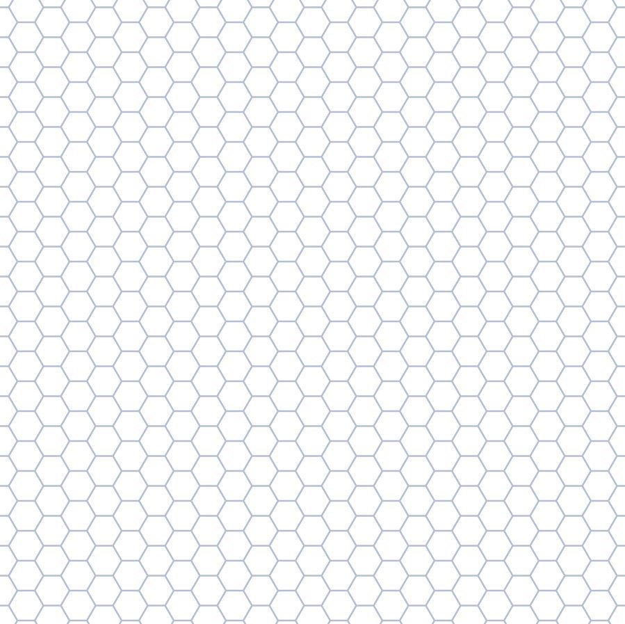 Hexagonal paper