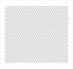 Isometric Graph Paper Printable