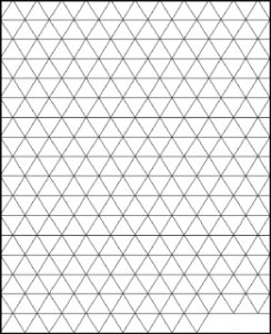 Triangle Graph Paper PDF