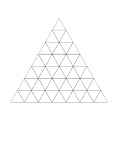 Triangle Graph Paper Template