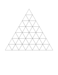 Triangle Grid Paper Printable