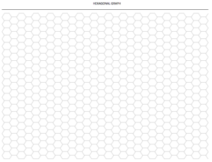 Hexagon Graph Paper Download