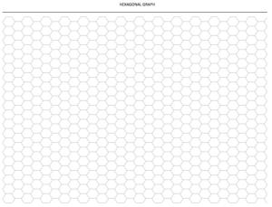 Hexagon Graph Paper Download