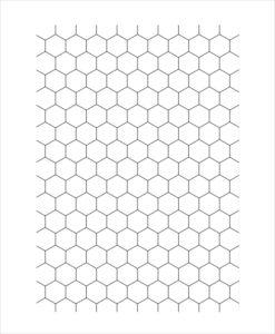 Hexagon Graph Paper Printable