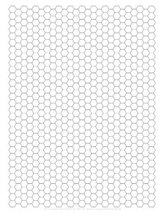 Hexagon Graph Paper PDF