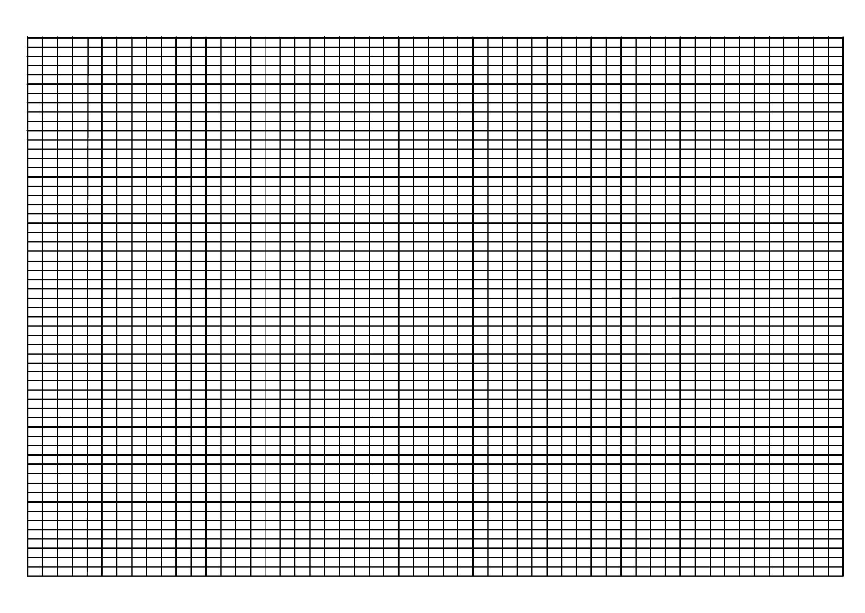 Knitting Graph Paper