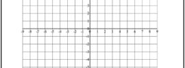 Coordinate Plane Graph Paper