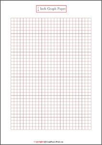 1/4 Inch Graph Paper