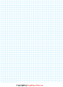 1/4 Inch Graph Paper PDF