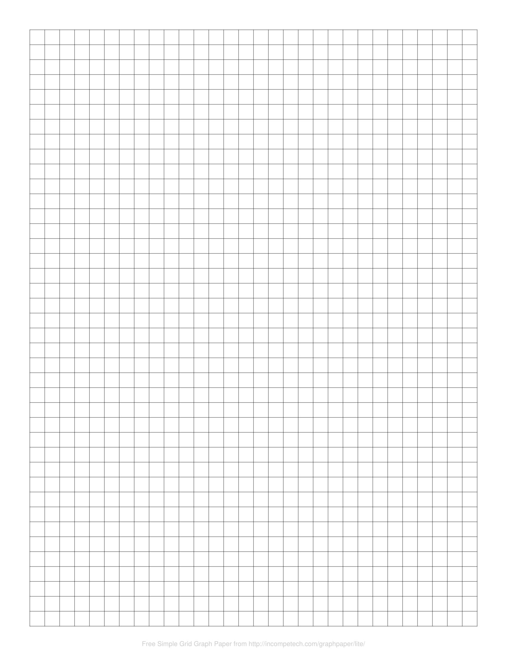 Digital Graph Paper Online