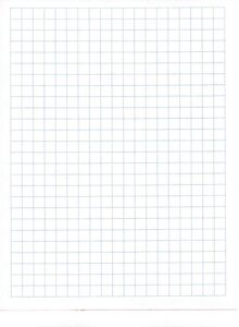 Templates For Transparent Graph Paper