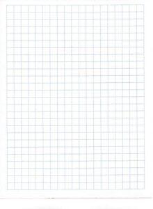 Templates For Transparent Graph Paper
