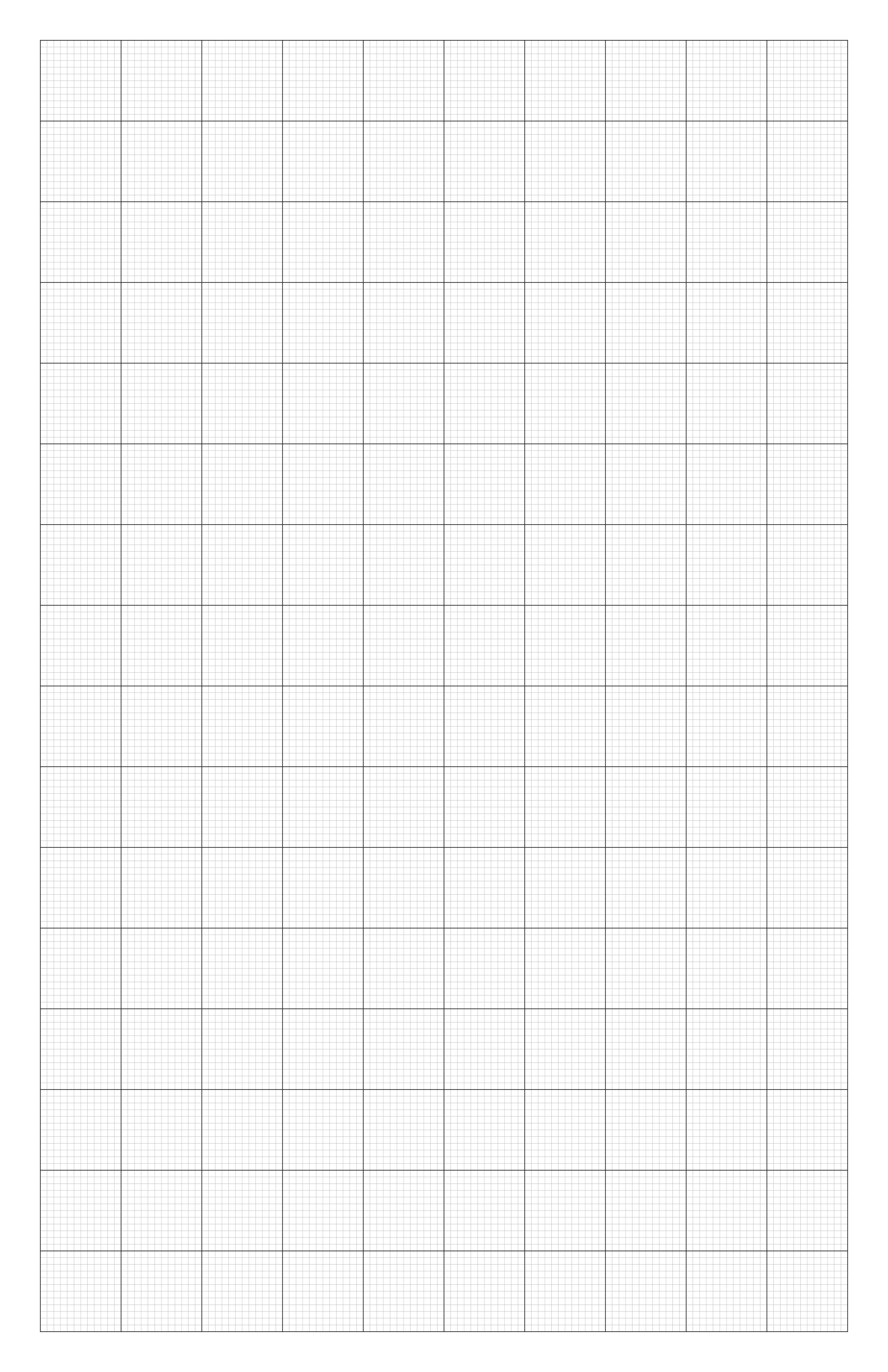 Grid A4 Paper PDF