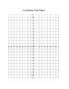 Printable Graph Paper With Numbers