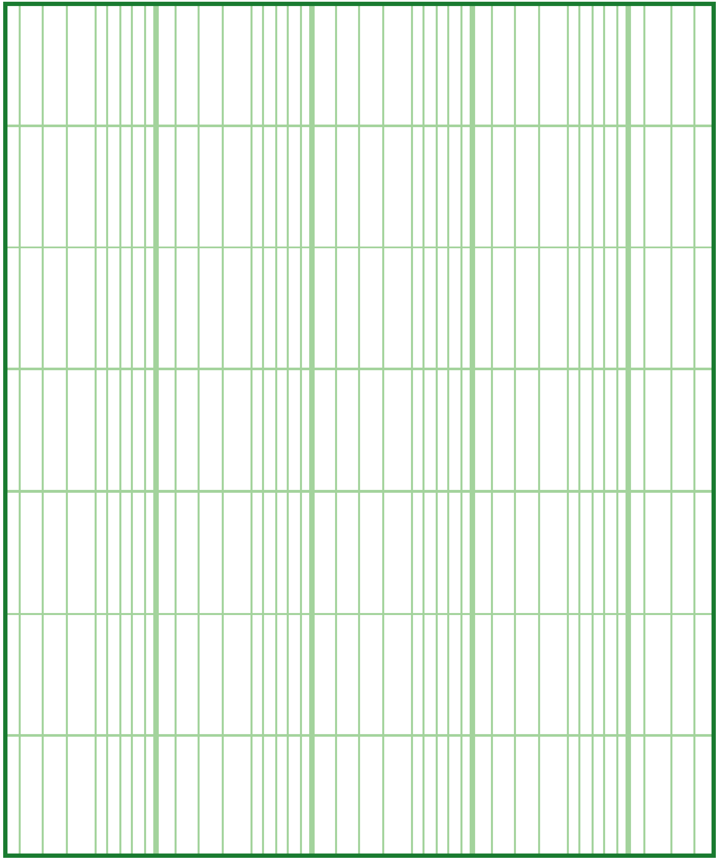 Blank Logarithmic Graph Paper