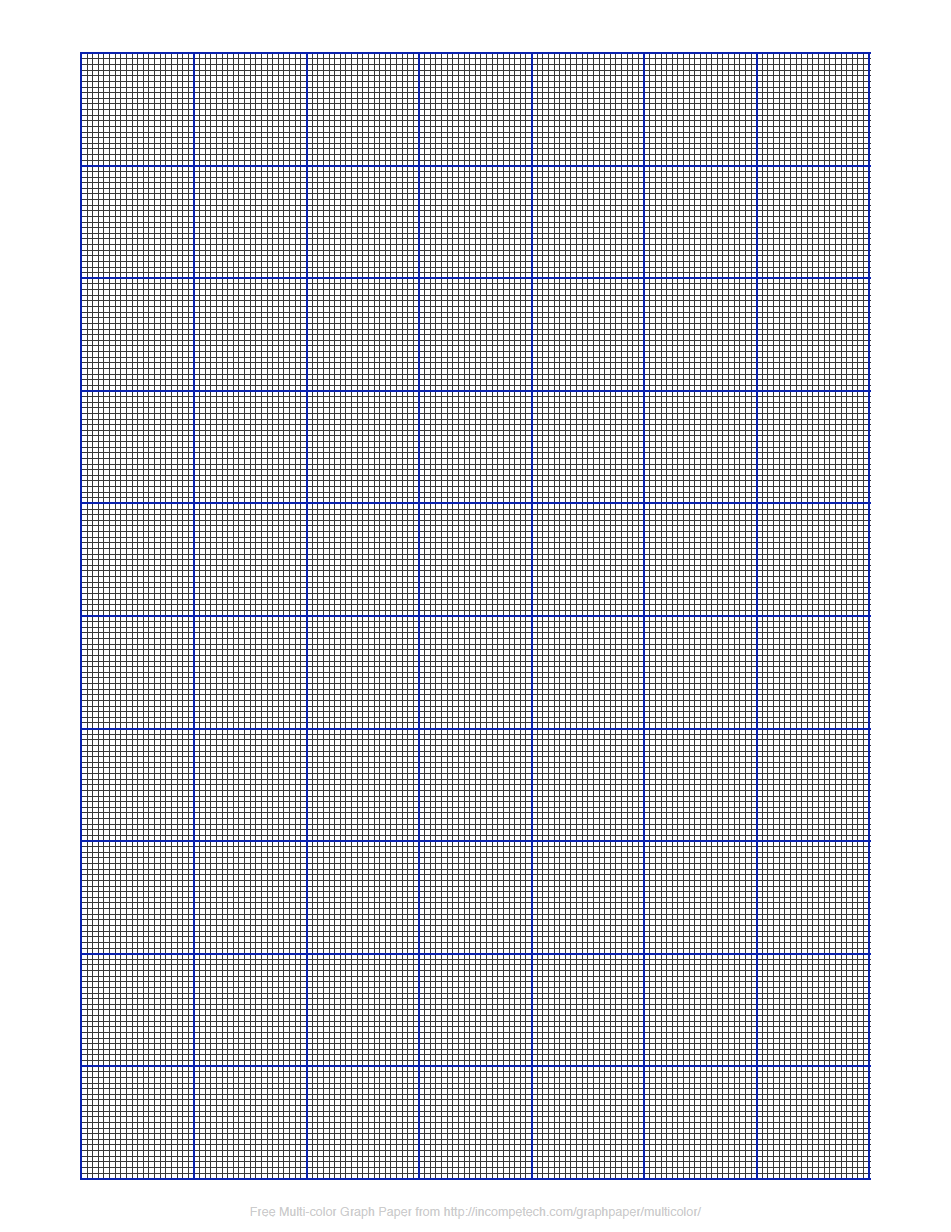 Printable Crochet Graph Paper